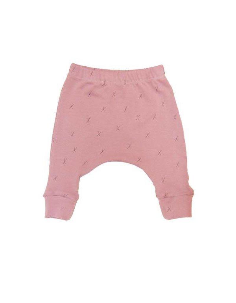 Go Gently Nation Rib Baby Pant - Woodrose