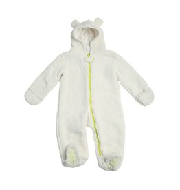 EGG by Susan Lazar Bear Snow Suit - Ivory
