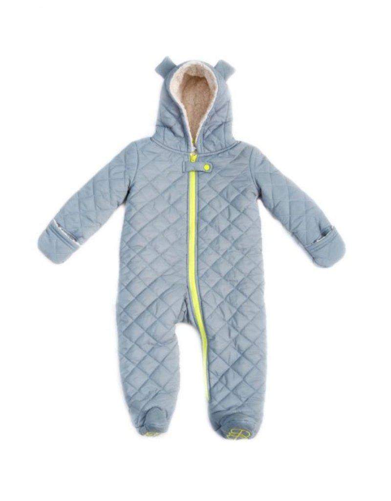 EGG by Susan Lazar Bear Snow Suit - Navy