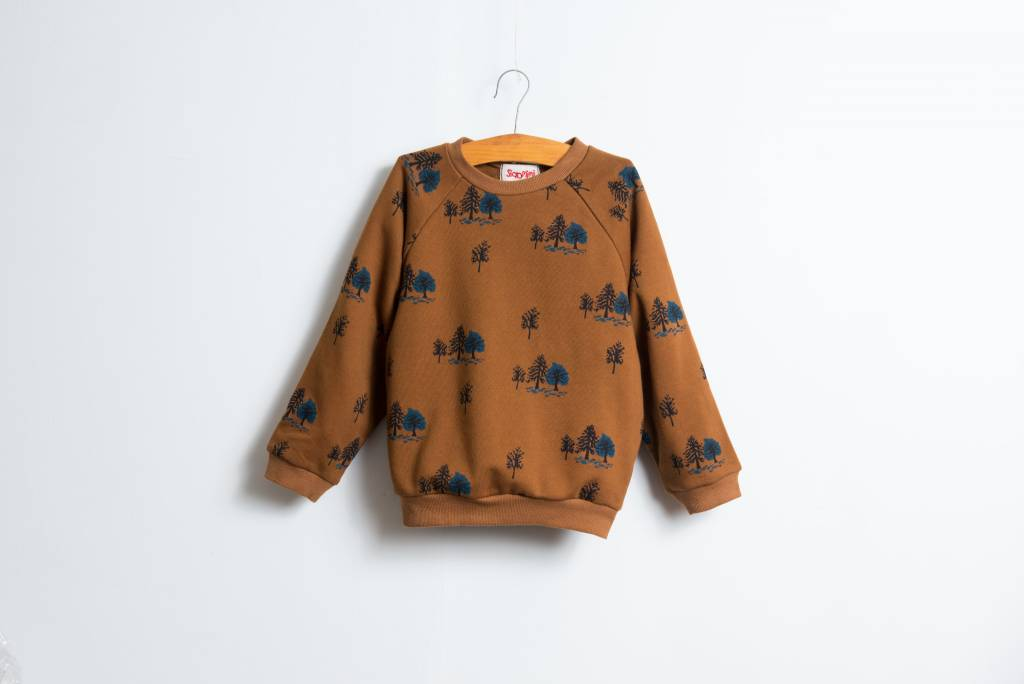 Siaomimi Forest Caramel Sweatshirt