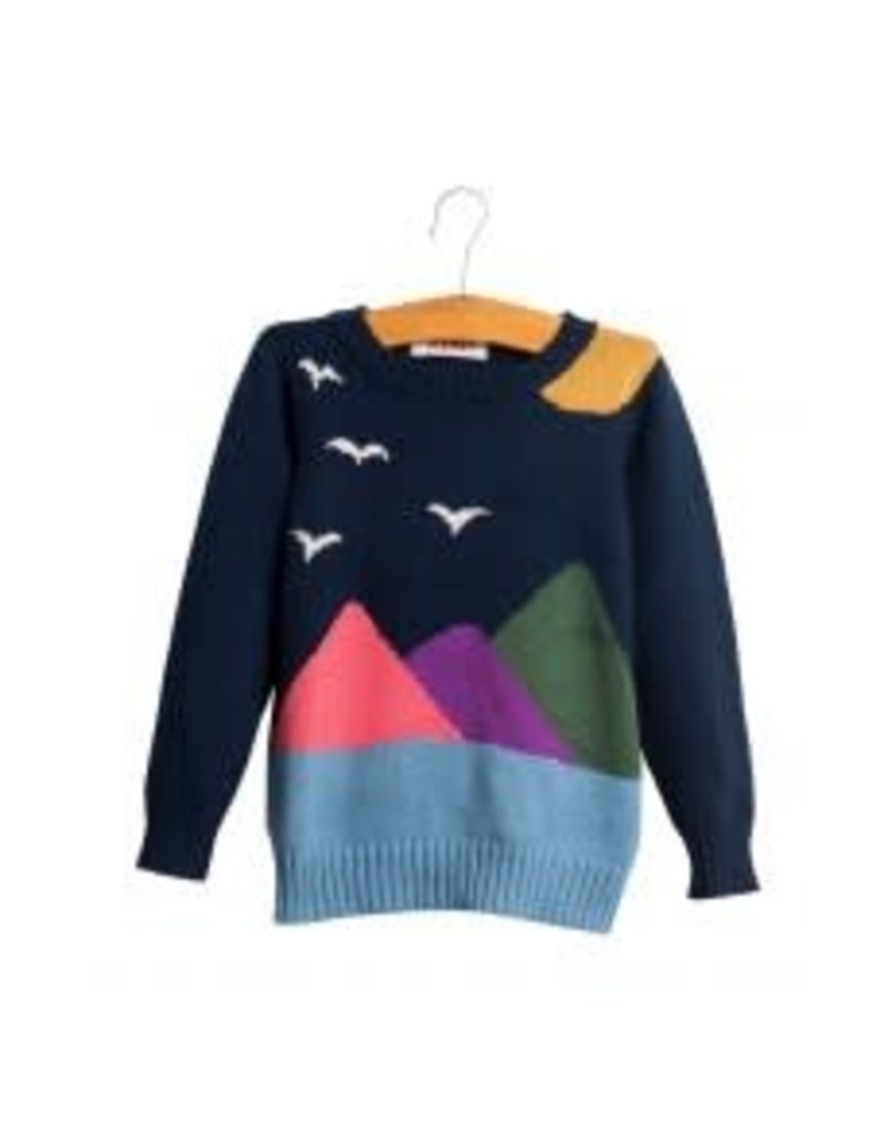 Siaomimi Landscape Baby Sweater