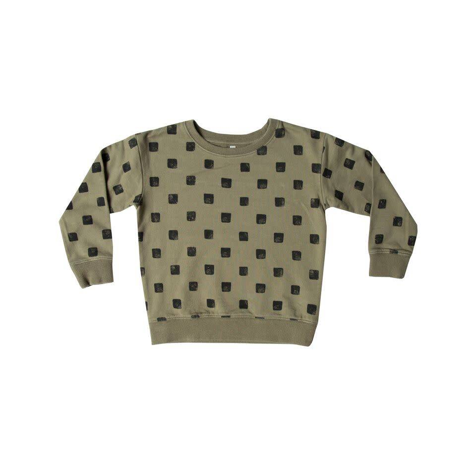 Rylee & Cru Checker Sweatshirt