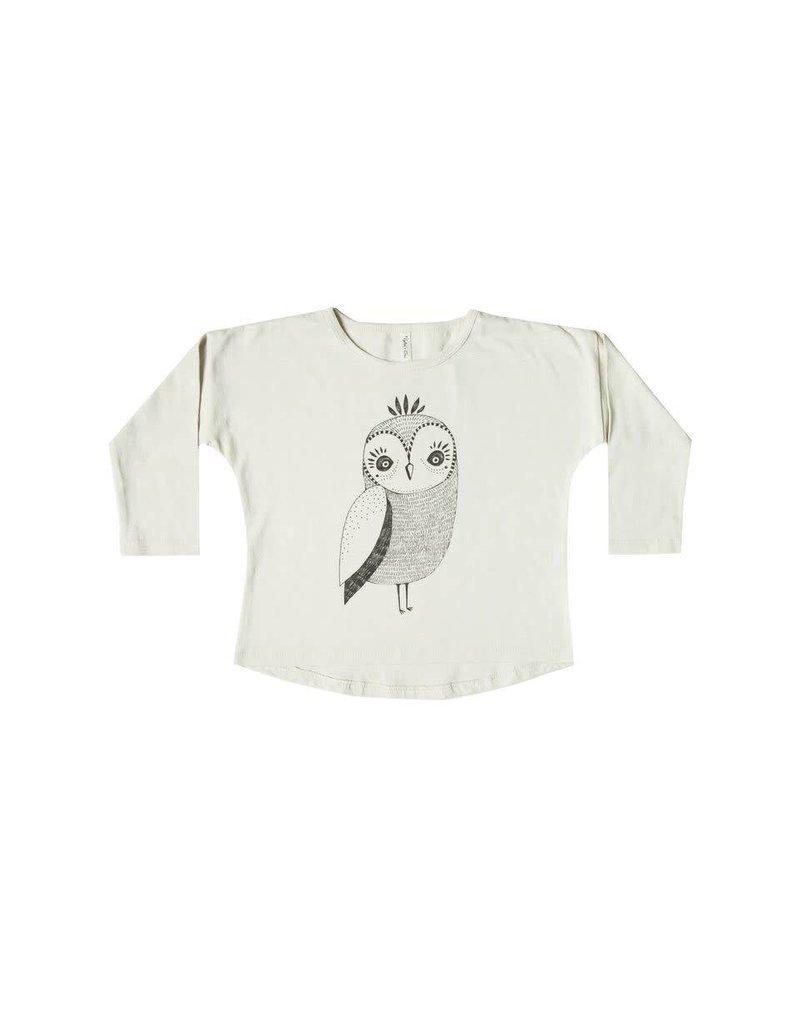 Rylee & Cru Owl L/S Baby Tee