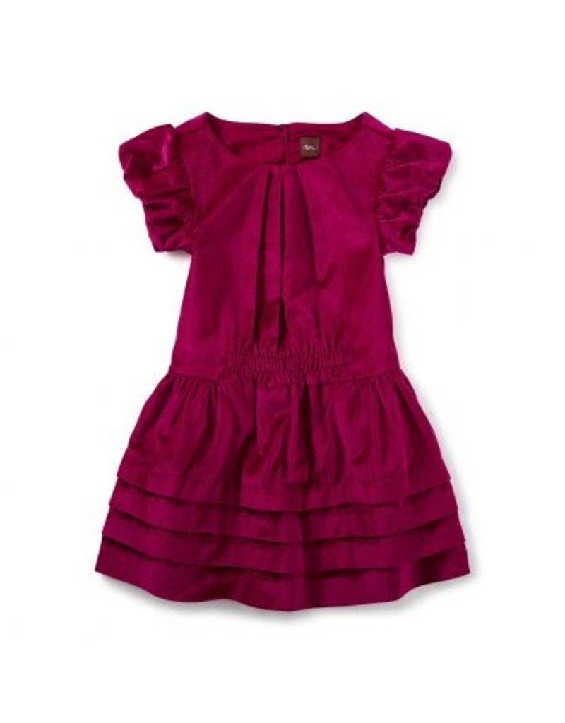 Tea Collection Dunrobin Velvet Dress