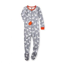 Tea Collection Red Deer Baby Pajamas