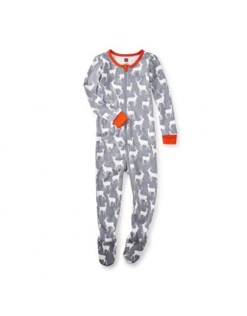 Tea Collection Red Deer Baby Pajamas