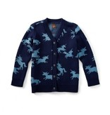 Tea Collection Unicorn of Scotland Cardigan