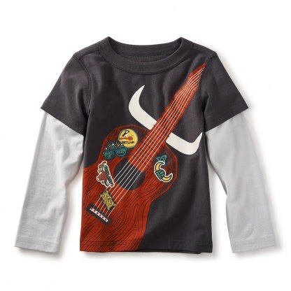 Tea Collection Highland Guitar Graphic Tee