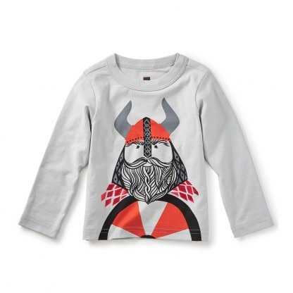Tea Collection Little Viking Graphic Tee