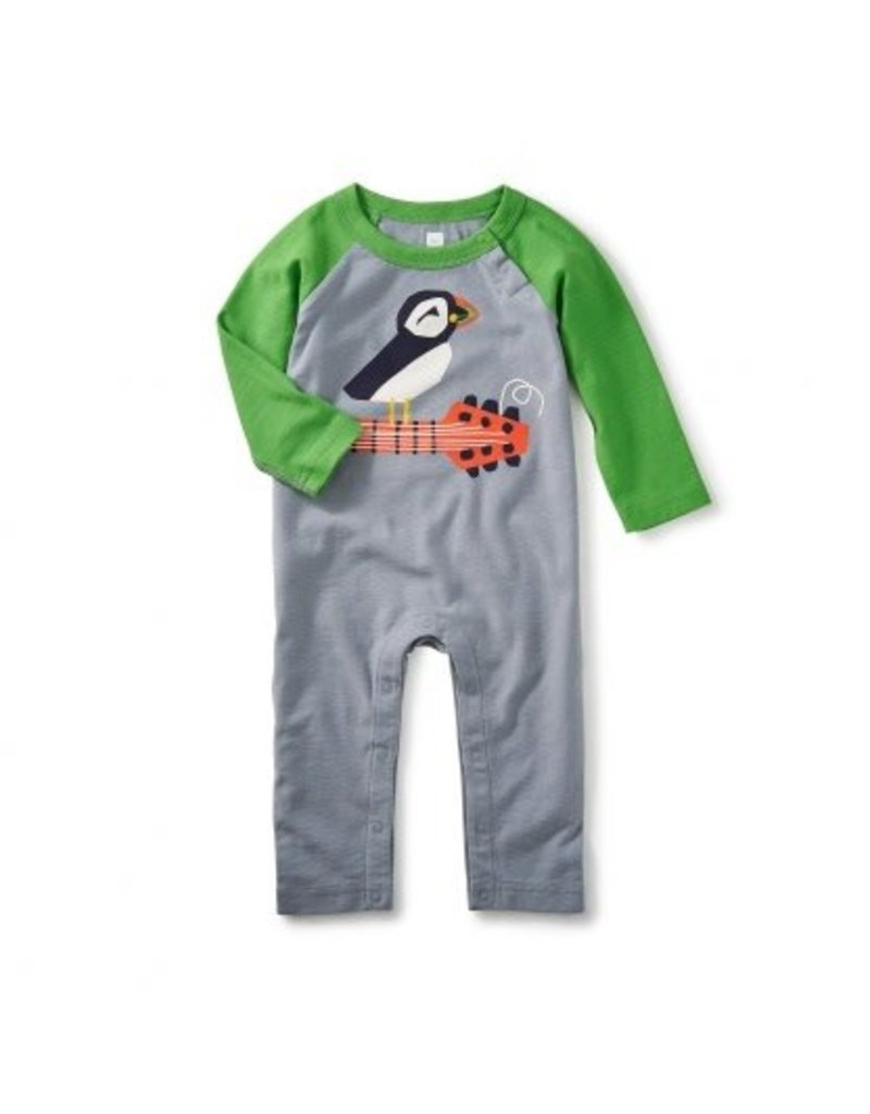 Tea Collection Puffin Rock Graphic Romper