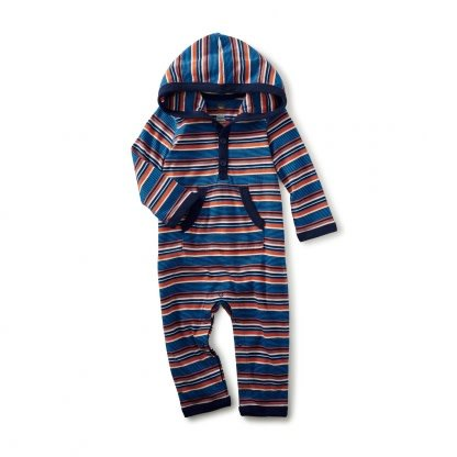 Tea Collection Ugie Hooded Romper