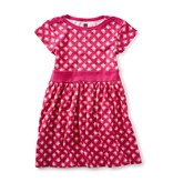 Tea Collection Sunburst Cap Sleeve Dress