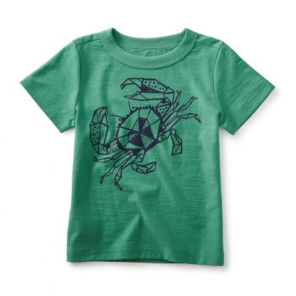 Tea Collection Crab Legs Graphic Tee