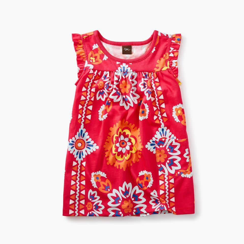Tea Collection Baby Mighty Mini Bandana Dress