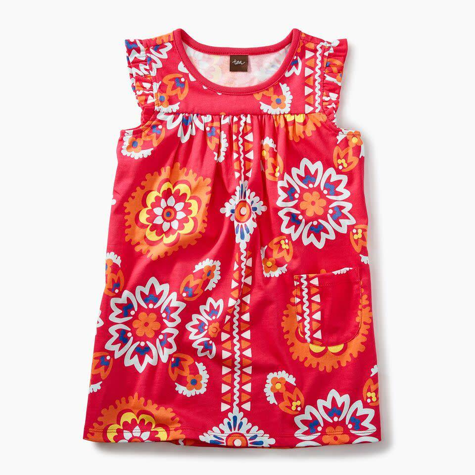 Tea Collection Mighty Mini Bandana Dress