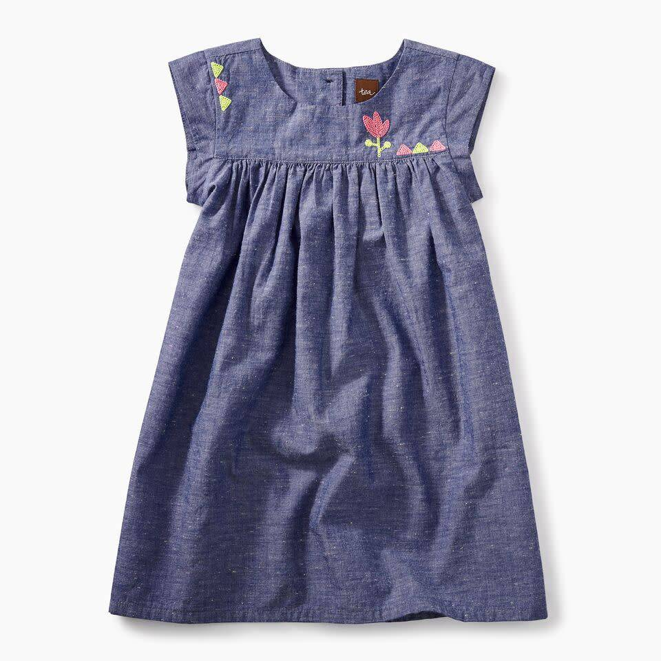 Tea Collection Nep Chambray Dress
