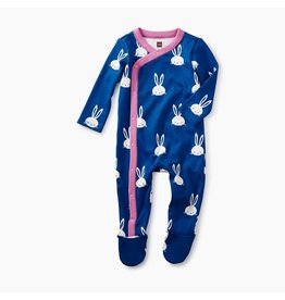 Tea Collection Bunnies Footed Romper