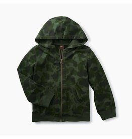Tea Collection Camo Zip Hoodie