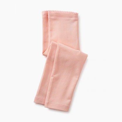 Tea Collection Pink Gloss Capri Leggings