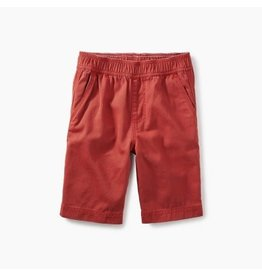 Tea Collection Easy Does It Rustic Red Twill Shorts