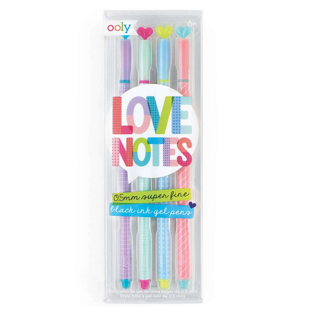 Ooly Love Notes Gel Pens