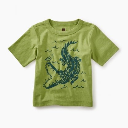 Tea Collection Alligator Tee