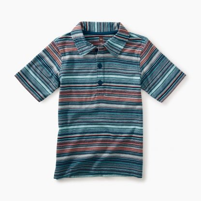 Tea Collection Classic Striped Polo
