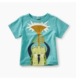Tea Collection Jazz Frog Baby Tee
