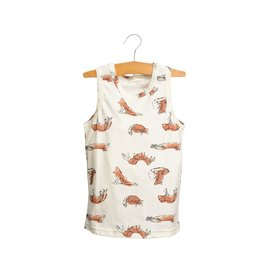 Siaomimi Cream Fox Tank