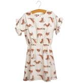 Siaomimi Hailey Dress - Cream Fox
