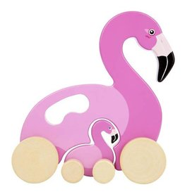 Sunnylife Flamingo Push Pull Toy