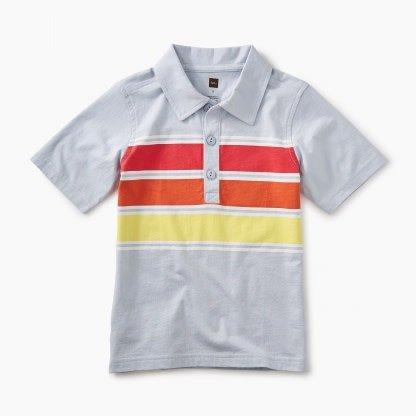 Tea Collection Chest Stripe Polo