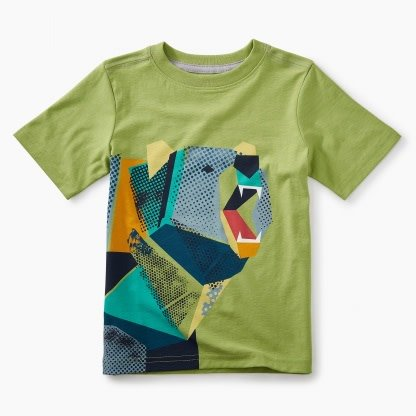 Tea Collection Pop-art Bear Tee