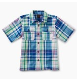 Tea Collection Plaid Buttoned Shirt