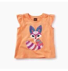 Tea Collection Desert Fox Graphic Baby Tee