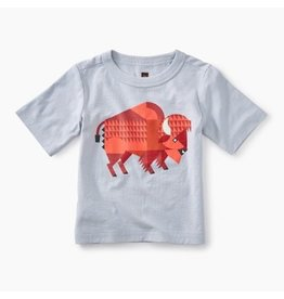 Tea Collection Bison Graphic Baby Tee
