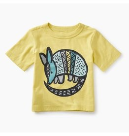 Tea Collection Armadillo Graphic Baby Tee