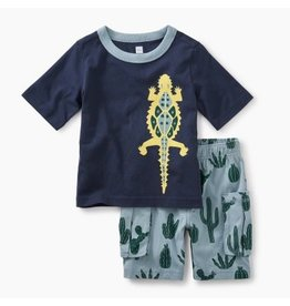 Tea Collection Desert Lizard Baby Outfit