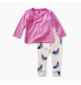 Tea Collection Wrap Top Baby Outfit