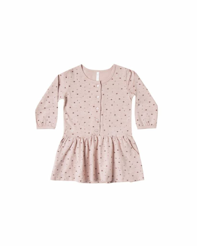 Rylee & Cru Scattered Stars Button Dress