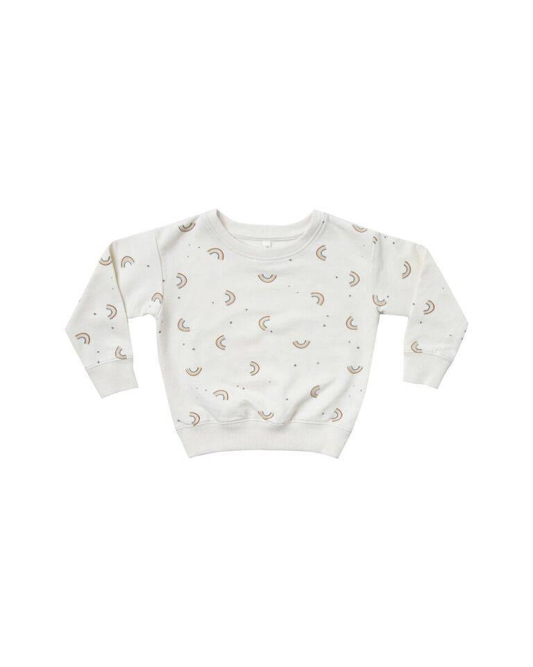 Rylee & Cru Rainbow Baby Sweatshirt