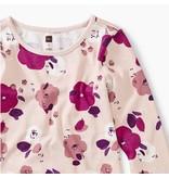 Tea Collection Rosada Floral Ruffle Dress