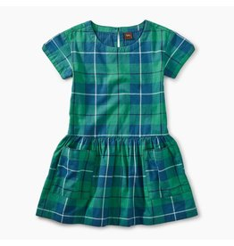 Tea Collection Tartan Pocket Dress
