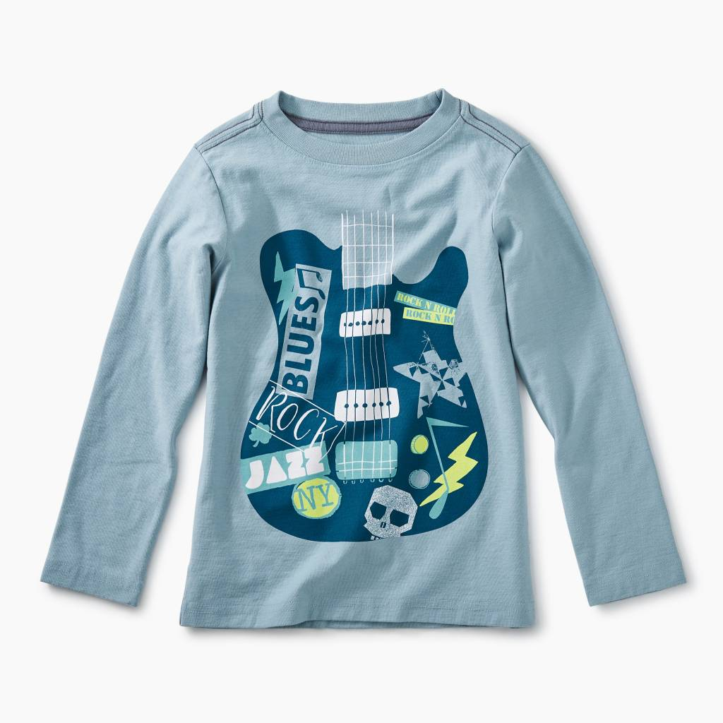 Tea Collection Guitar Graphic Tee - Tourmaline