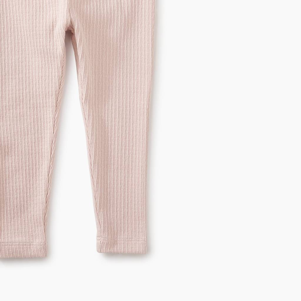 Tea Collection Pointelle Baby Leggings - Rosada