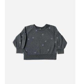 Star Puff Sleeve Sweatshirt