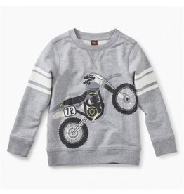 Tea Collection Moto Bike Graphic Sweatshirt