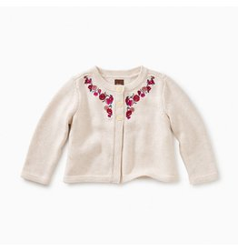 Tea Collection Embroidered Cardigan