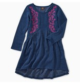 Tea Collection Embroidered Hi-Lo Dress