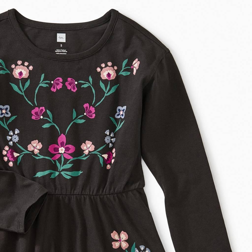 Tea Collection Nordic Floral Skater Dress